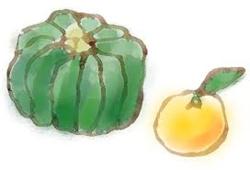 カボチャと柚子.png